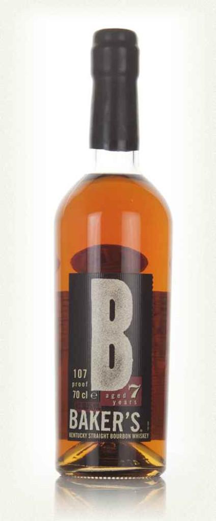 Baker's 7 Year Old Kentucky Straight Bourbon Whiskey 107 Proof