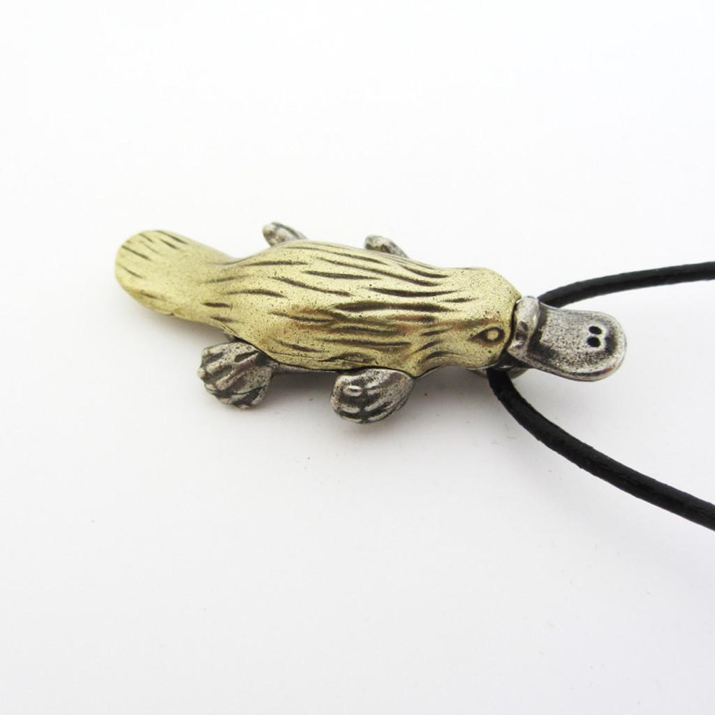 Duck Billed Platypus Necklace