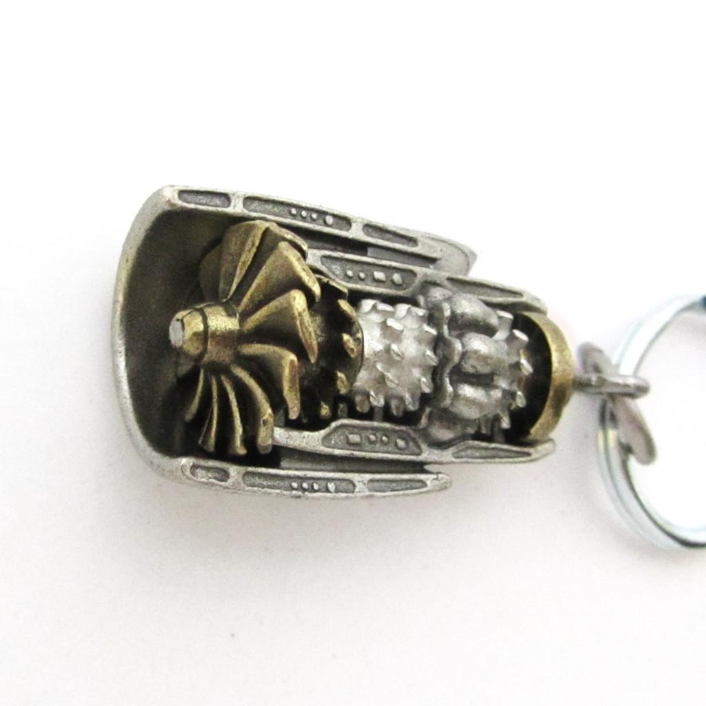 Turbofan Keychain