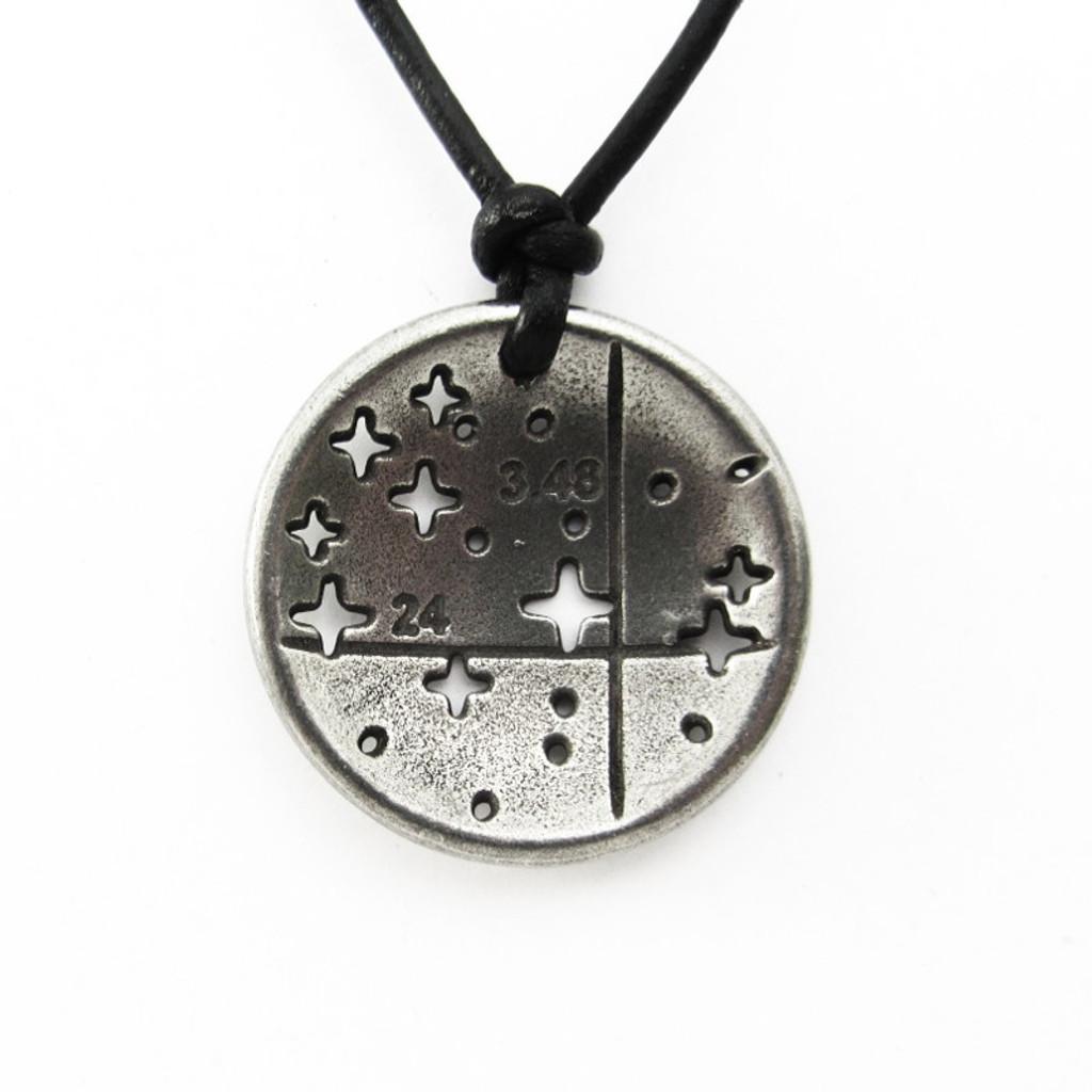 Pleiades constellation necklace