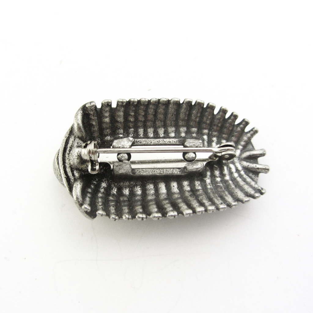 trilobite lapel pin brooch
