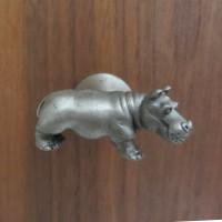 Hippopotamus Drawer Pull