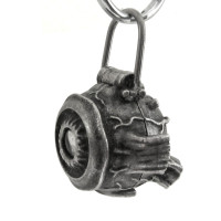 anatomical human eye keychain