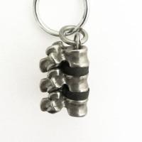 spinal column keychain