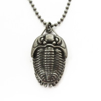 Trilobite Pendant with Magnifier