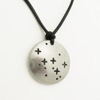 constellation cassiopeia necklace