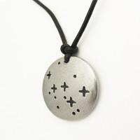 Cassiopeia Constellation Necklace