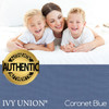 Ivy Union Premium Down Alternative Twin XL Comforter Set, Coronet Blue