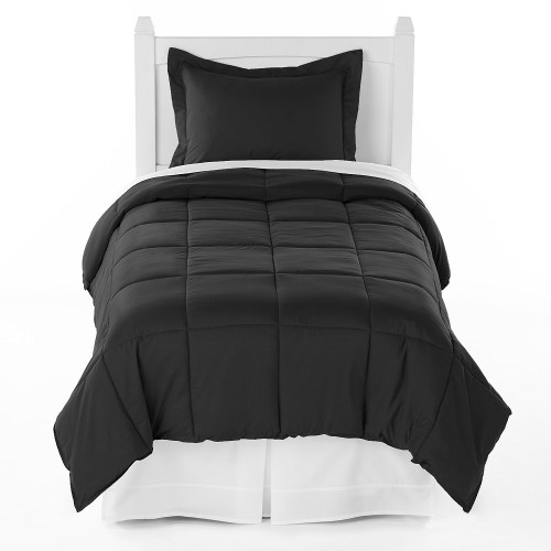 Twin XL Comforter Black