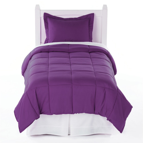 Twin XL Comforter Plum
