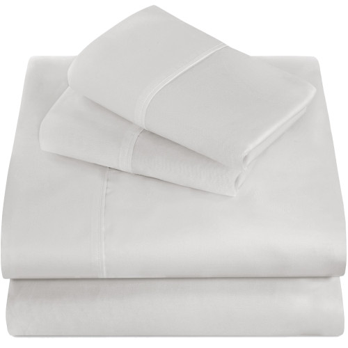 Twin XL Sheets - Microfiber - White