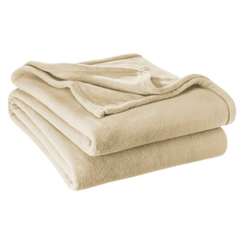 Super Soft Microplush Blanket - Full/Queen - Oyster
