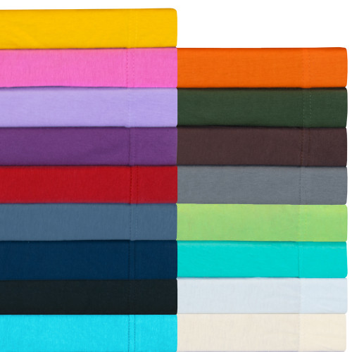 Ivy Union Jersey Knit 100% Cotton Twin XL Sheet Sets
