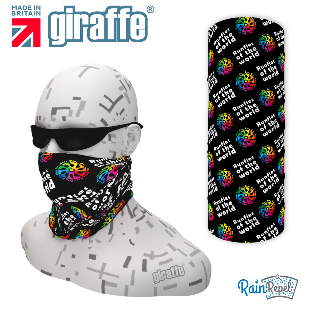 Runfies Of The World  - Club Design Multi-functional Bandana