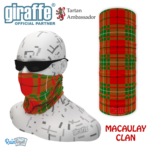 Macauley Clan Tartan Bandana