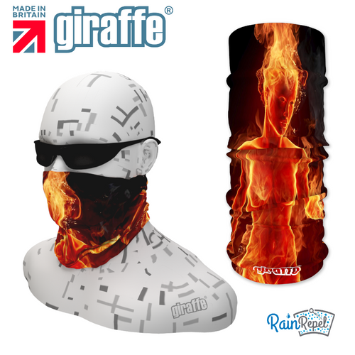 G293 Naked Fire Godess Tube Bandana