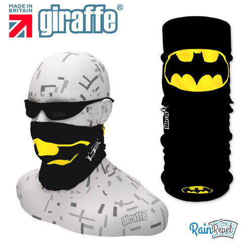 G296 Batman Bat Black Tube Bandana
