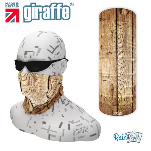 G549 Wood texture plank  Multi-functional Tube Bandana