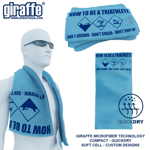 How to be a Triathlete GT-001 Sports Microfibre Towel