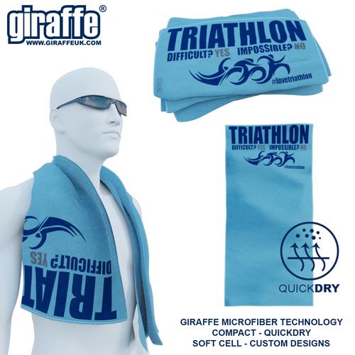 Triathlon Difficult? GT-006 Sports Microfibre Towel