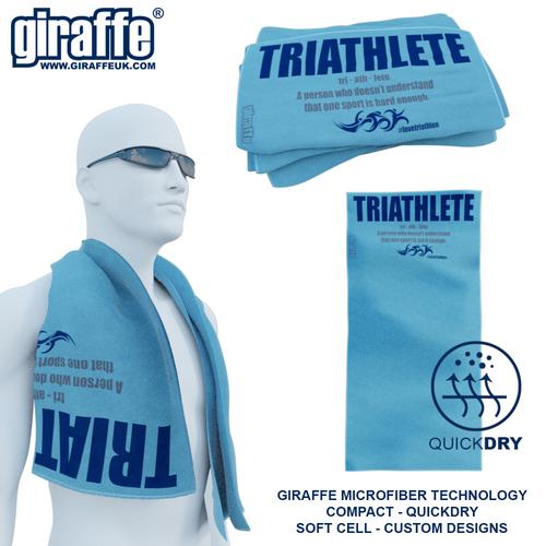 Definition of a Triathlete GT-007 Sports Microfibre Towel