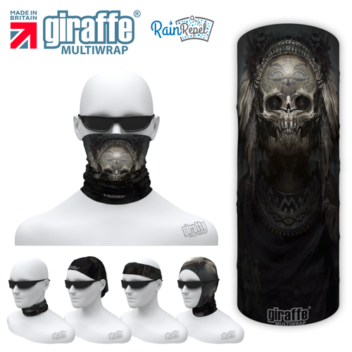 G-572 Skull Mask Multi-functional Tube Bandana
