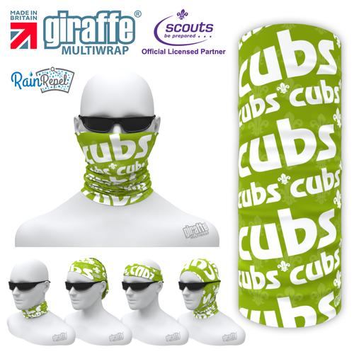 SA29 Cubs Logo On Green Scout Association  Multi-functional Bandana