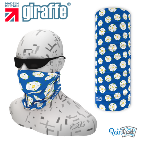 G-561 Yorkshire Rose Blue  Face Mask Black Tube  Bandana