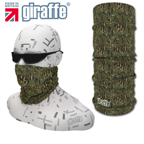 G-428 HuntingCamo Face Mask Black Tube  Bandana