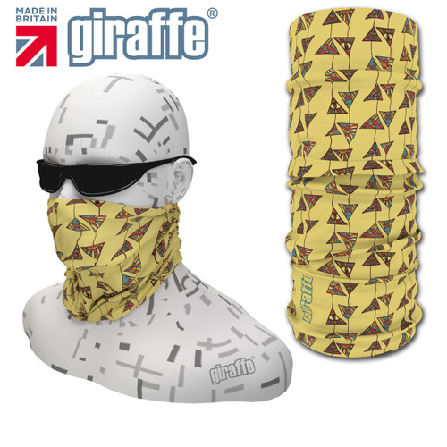 CG-432 Kites Face Mask Black Tube  Bandana