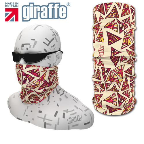 G-433 Face Mask Black Tube  Bandana