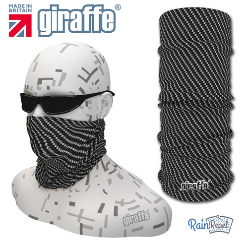 G-440 Carbon Face Mask Black Tube  Bandana