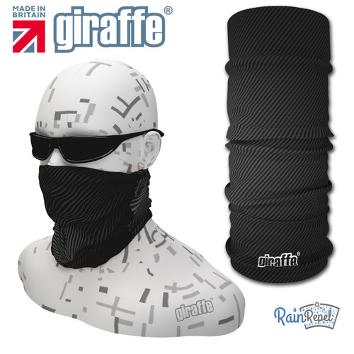 G-442 Carbon Swirl Face Mask Black Tube  Bandana