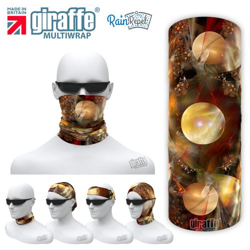 G-571 Planets Face Mask Black Tube  Bandana