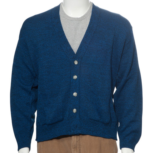Mens Button-Down Acrylic Cardigan Sweater