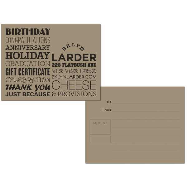 Gift Card for $25
