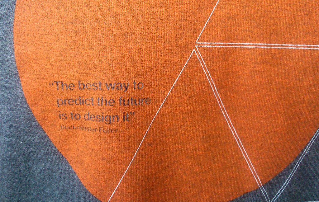 buckminster fuller t shirt quote