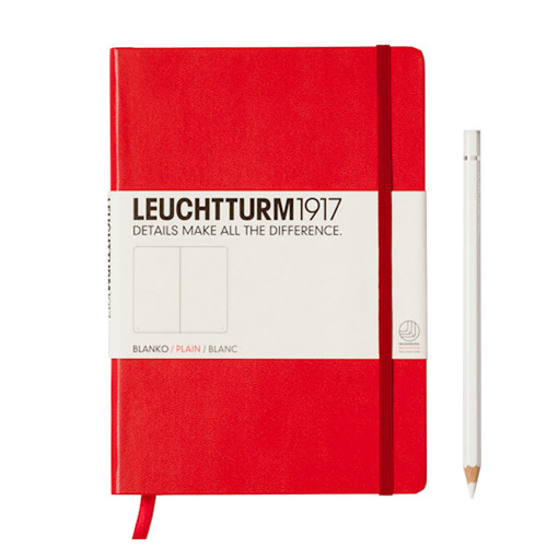Leuchtturm A5 Notebook JOURNAL - RED