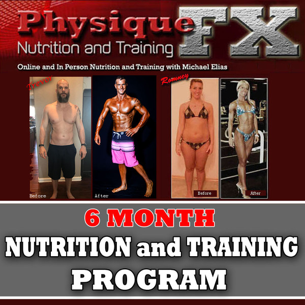 6 Month Online Nutrition and Training Program