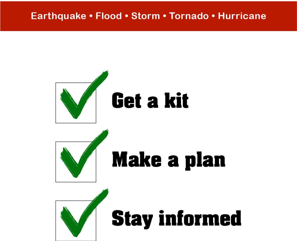 Creating an emergency plan