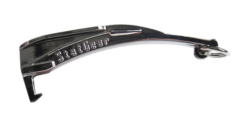 Chrome Laryngoscope Bottle Opener Keychain