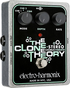 Electro Harmonix    Stereo Clone Theory  Analog Chorus/Vibrato