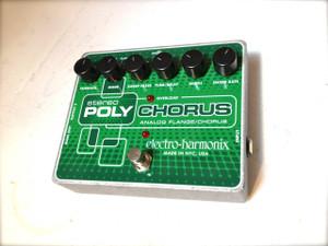 Electro Harmonix    Stereo Polychorus  Analog Chorus/Flanger/Slapback Echo