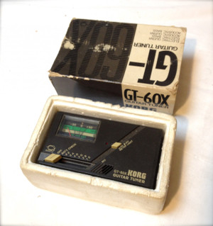 Used Korg gt-60x guitar tuner