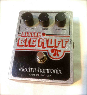 Used Electro Harmonix  Little Big Muff -SOLD-