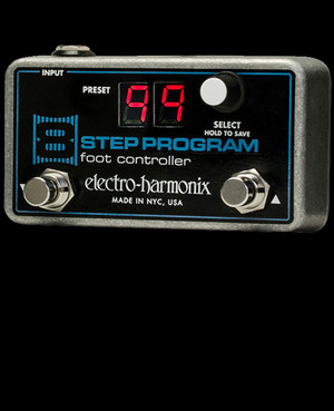 Electro Harmonix 8 Step Program Foot Controller  Remote Preset Controller