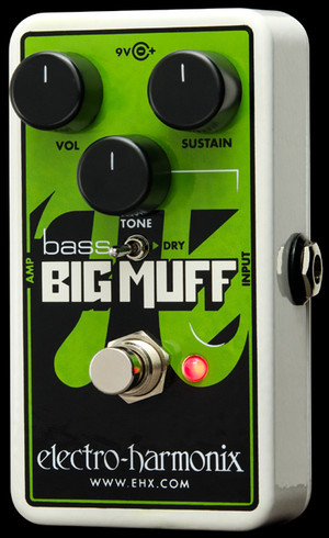 Electro Harmonix Nano Bass Big Muff Pi	  Distortion/Sustainer for bass
