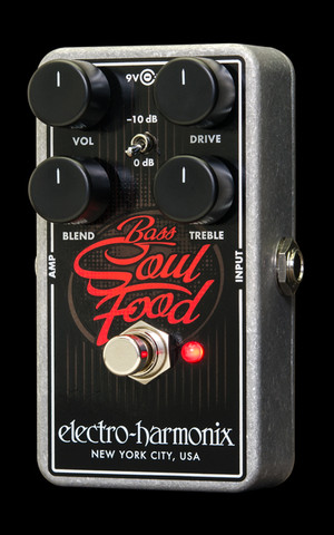 Electro Harmonix Bass Soul Food over drive
