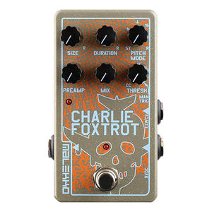 Malekko Charlie Foxtrot digital buffer/granular pedal