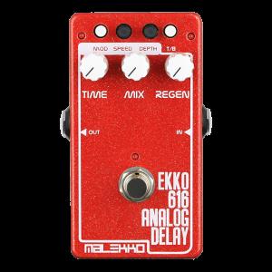Malekko Ekko 616 650ms Analog Delay Pedal MKll